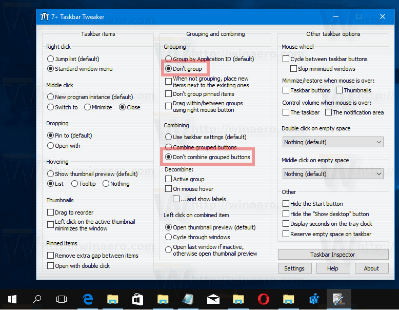 how to add button in windows 10 taskbar