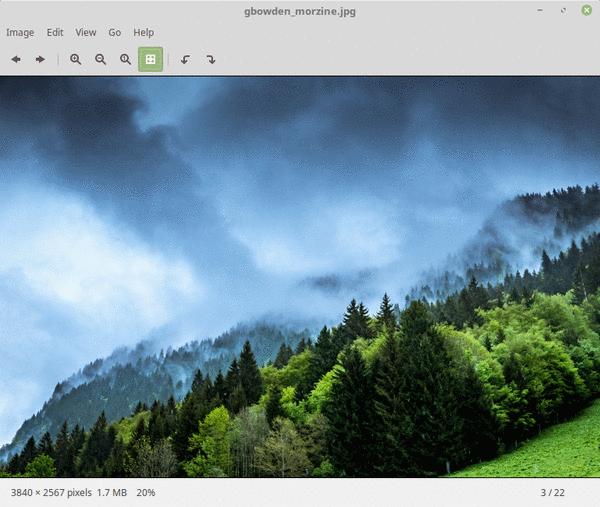 Xviewer In Mint 18.2