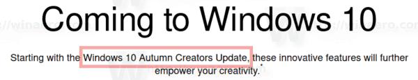 Autum Creators Update 2