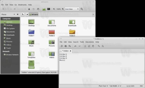 Caja Dothidden File Contents