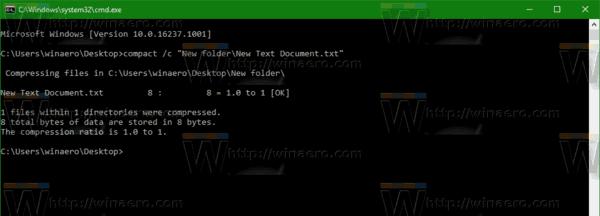 Compress File Windows 10
