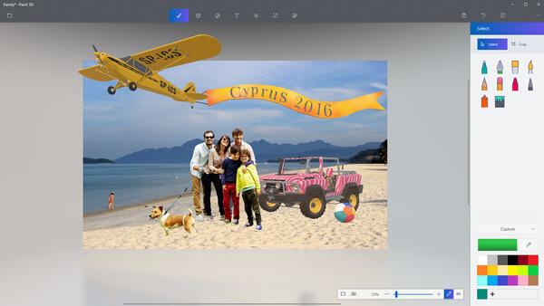 Paint 3D Compose Objects
