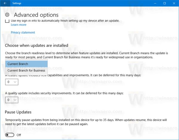 Windows 10 Readiness Branch