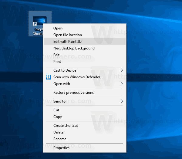 Windows 10 Remove Edit With Photos