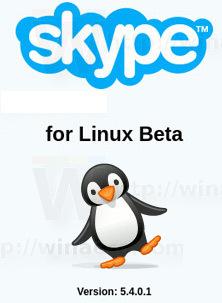 Skype For Linux 54b