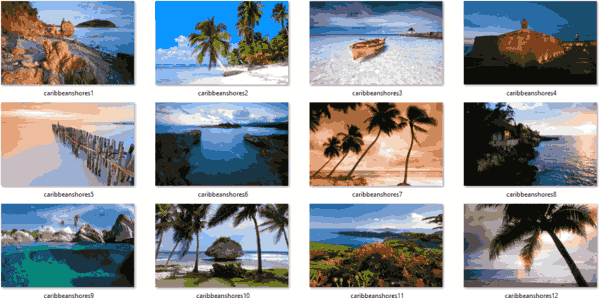 CaribbeanShores Themepack Images