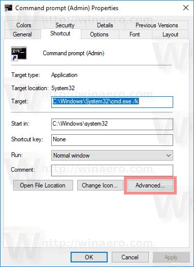 Cmd Shortcut Advanced Button