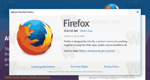 What's new in Firefox 55