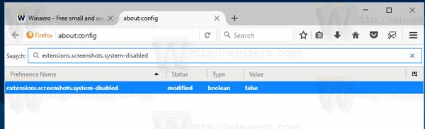 Firefox Value In Filter Box