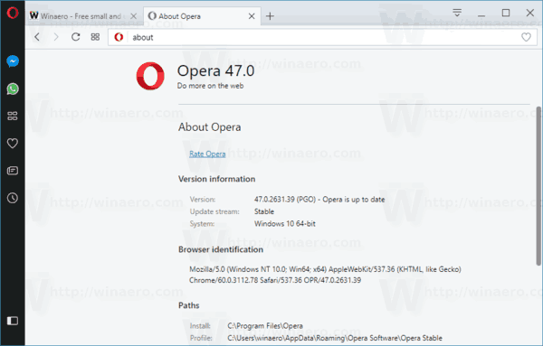 download opera for windows 10 32 bit