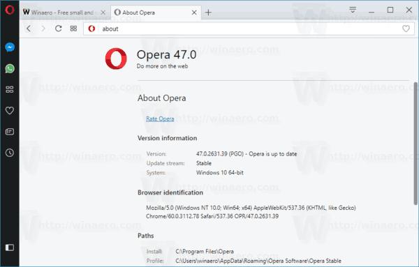Opera 47 About