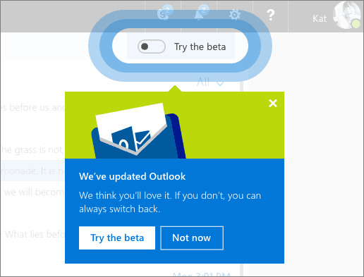 Outlookcom Beta 4