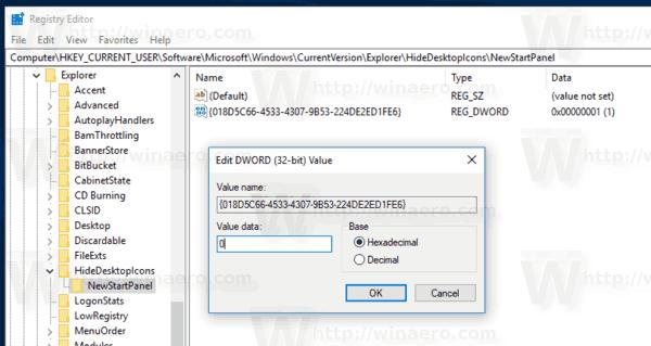 Windows 10 Add OneDrive Desktop Icon