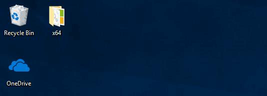 Windows 10 OneDrive Desktop Icon