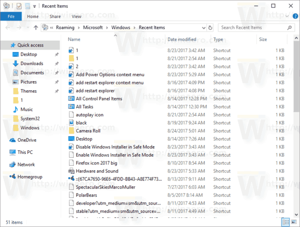 How to Clear File Explorer History in Windows 10