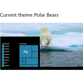 Download Polar Bears theme for Windows 10, 8 and 7