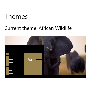 Download African Wildlife theme for Windows 10, 8 and 7