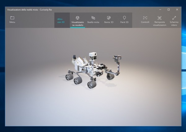 Mixed Reality Viewer 01