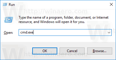 Start Apps Elevated From Run Dialog in Windows 10