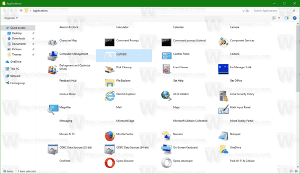 Windows 10 Applications Folder Appsfolder