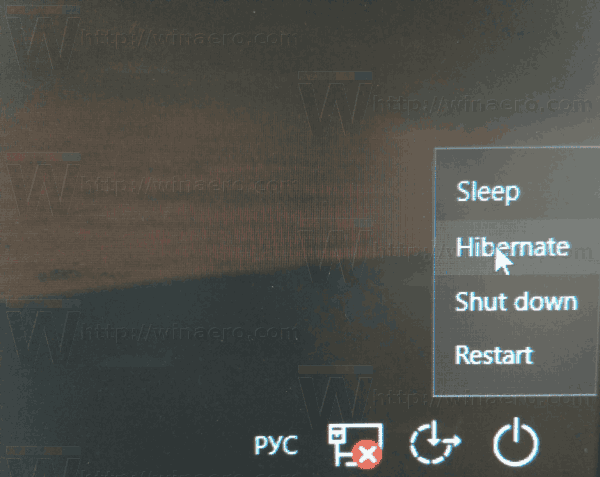 Windows 10 Hibernate PC Login