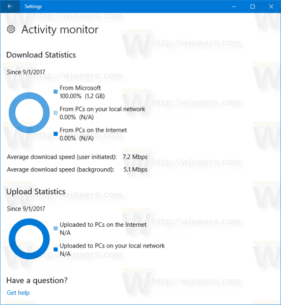 Windows 10 Activity Monitor In Settings