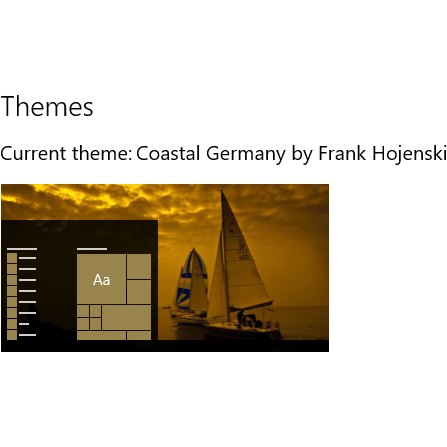 Download Coastal Germany theme for Windows 10, 8 and 7