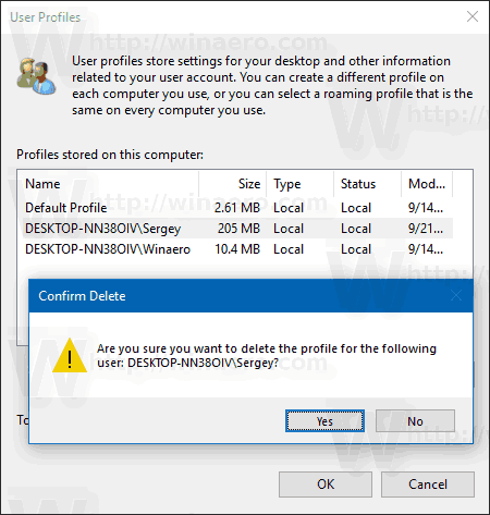 How To Delete User Profile in Windows 10