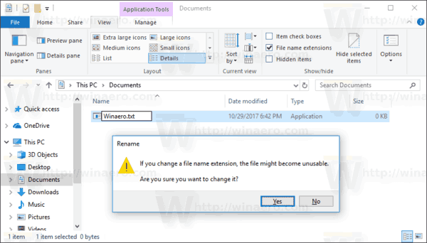 how to change file extension from txt to cfg