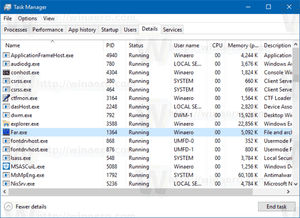 Switch To Details Tab Task Manager