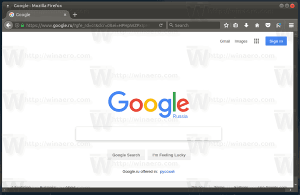 ubuntu mate firefox home page