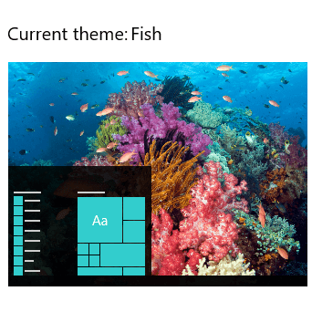 Tropical Fish theme for Windows 10