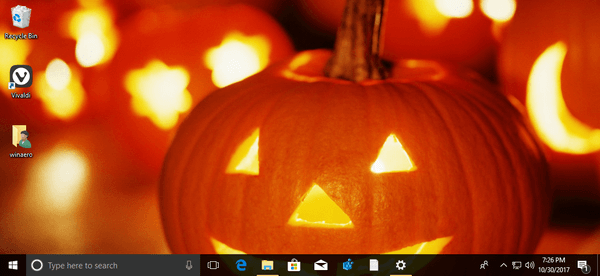 Trick or Treat Halloween Theme for Windows 10