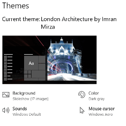 Download London Architecture theme for Windows 10, 8 and 7