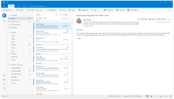 Outlook is getting a new look on Windows and Mac
