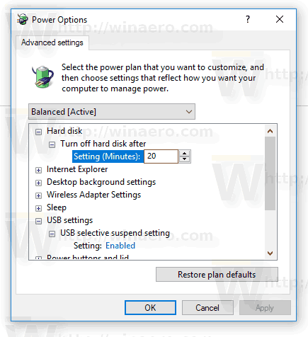 Usb Selective Suspend Enabled Windows 10