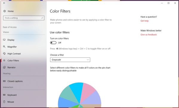 Windows Settings Fluent
