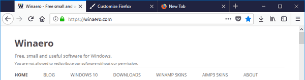 Firefox Drap Space Disabled