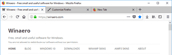 Firefox Title Bar Enabled