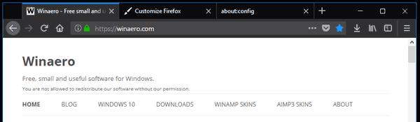 Firefox Default Scaling