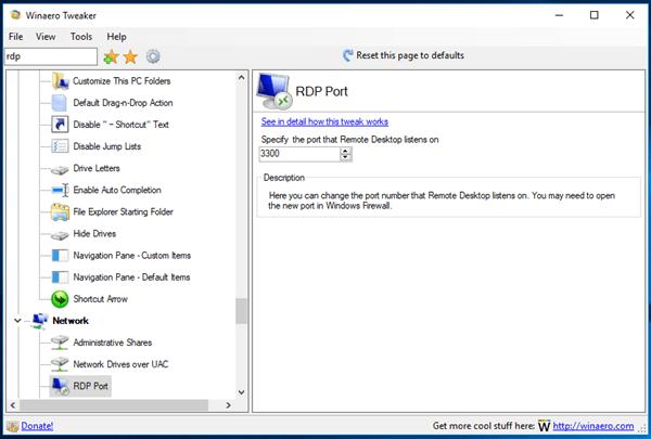 Change Remote Desktop (RDP) Port in Windows 10