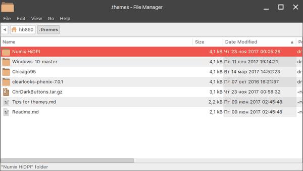 Xfce4 Install Numix Theme