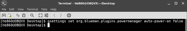 Disable Bluetooth Auto Power On In Blueman