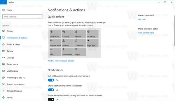 Online Tips Disabled In Settings Windows 10