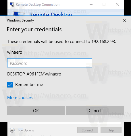 How to Remove Saved RDP Credentials in Windows 10