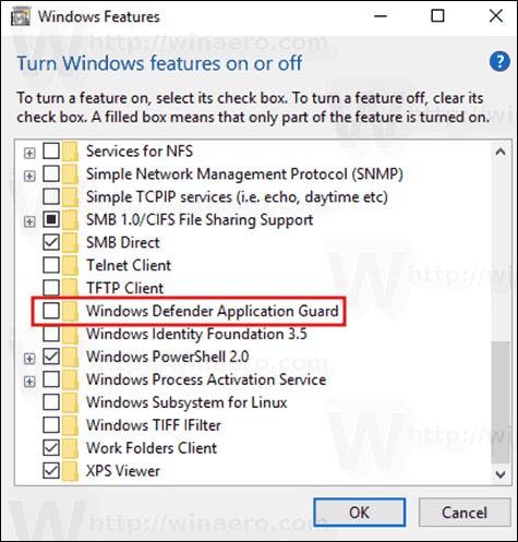 Windows 10 Enable Defender Guard