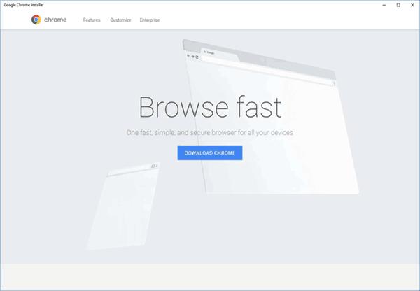 google chrome app for windows 10 download
