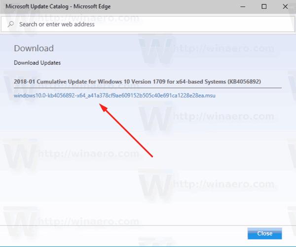 Download Windows 10 Update Link