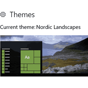 Download Nordic Landscapes theme for Windows 10, 8 and 7