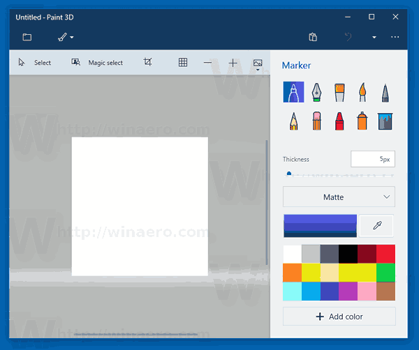 Create Transparent Pngs With Paint 3d In Windows 10